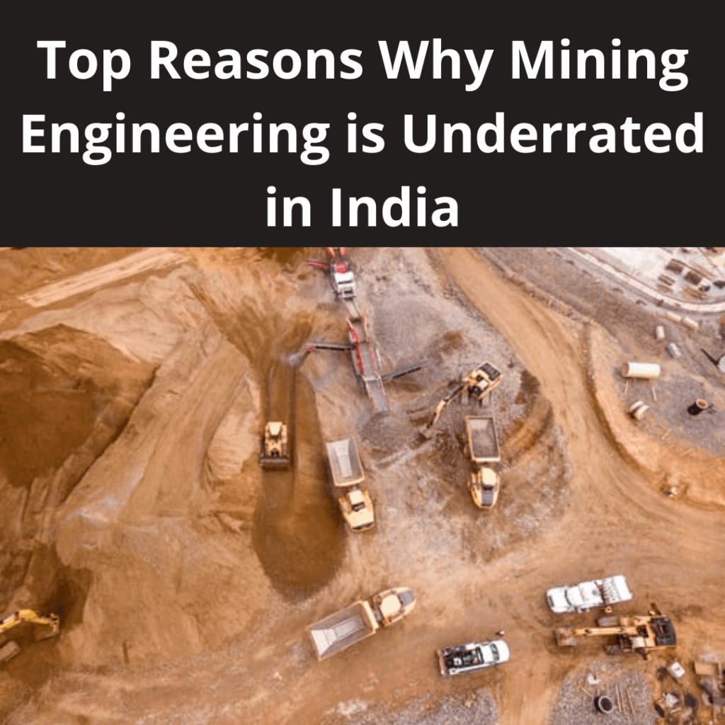 Mining Engineering is Underrated