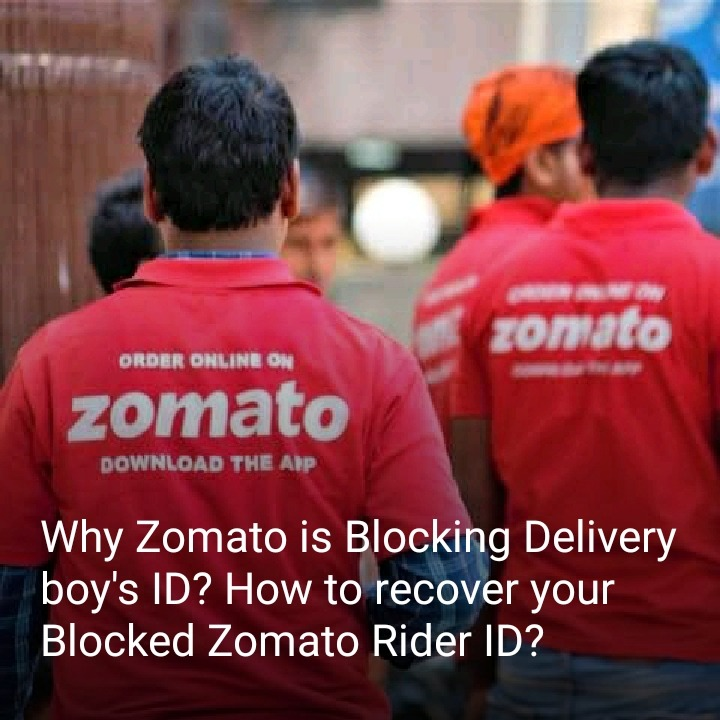 How to recover zomato block id