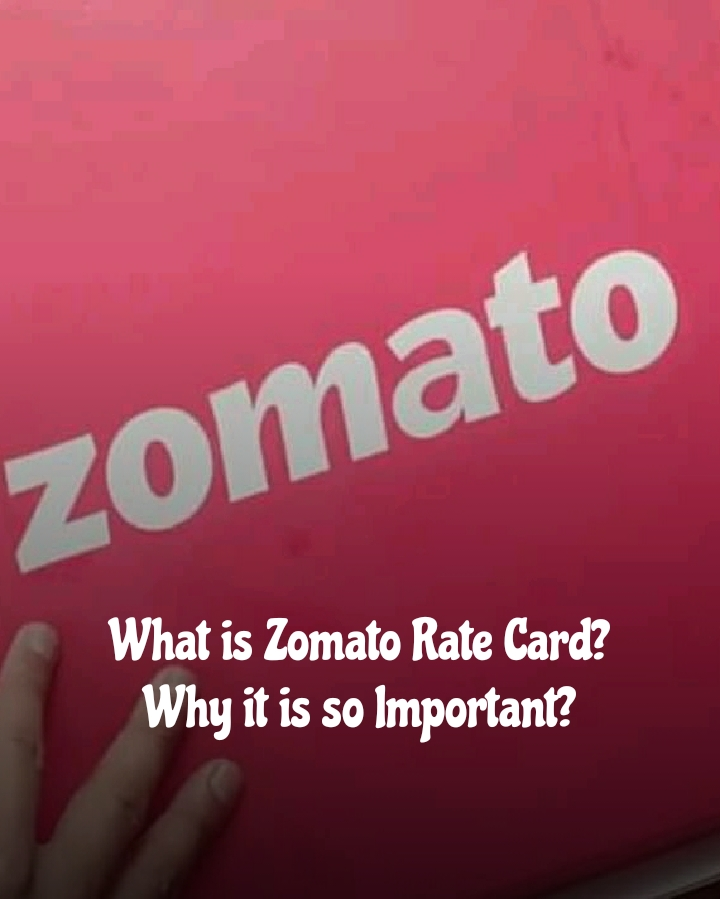 What is the zomato rate card