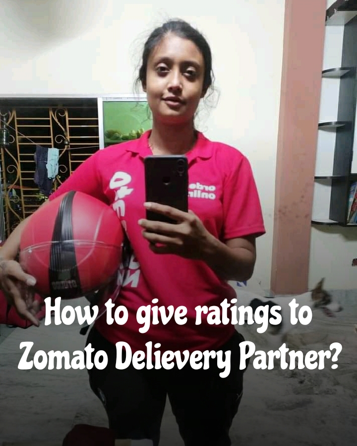 How to rate zomato delivery boy after delivery